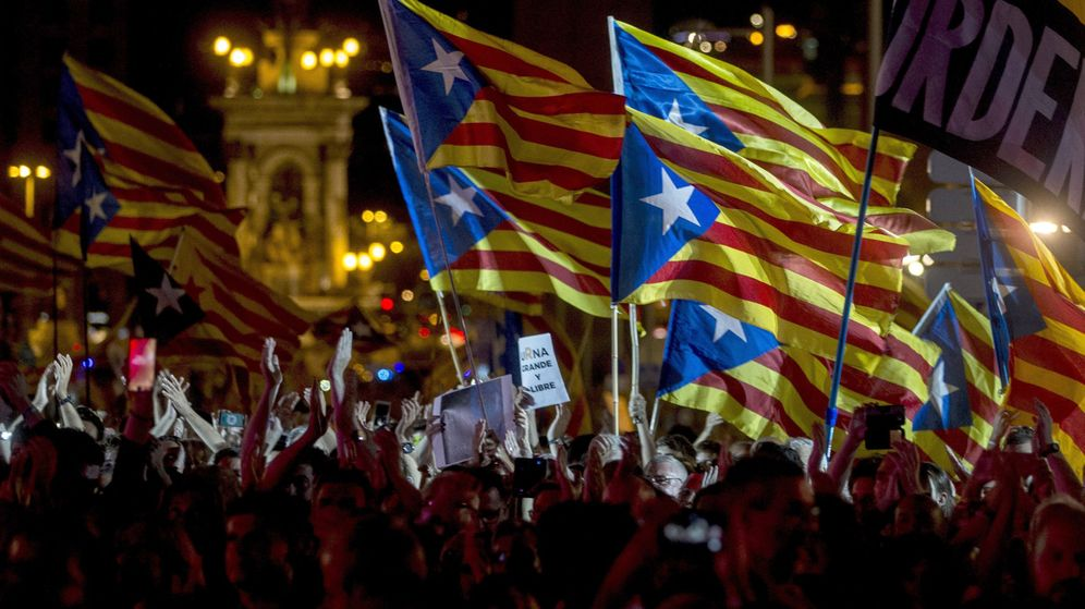 Foto: Acto unitario del independentismo en Barcelona. (EFE)