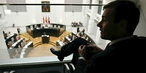 Foto: Tomás Gómez plantea impedir por ley que miembros del Opus ocupen cargos públicos