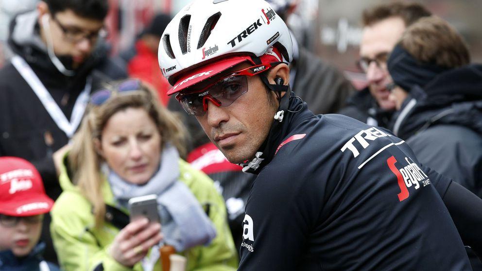 El infierno de Contador para salvar el día que tardará en olvidar