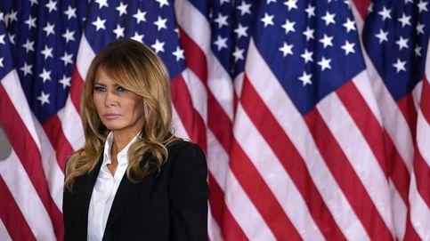 Melania Trump, del recogido de la duda al cabello suelto de la (casi) victoria