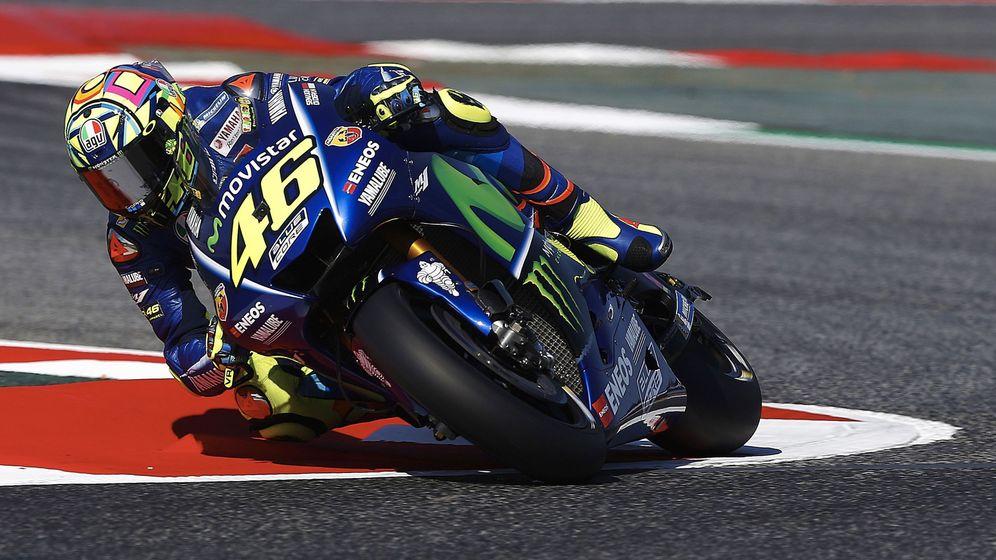 Foto: Rossi, en el último Gran Premio. (EFE)