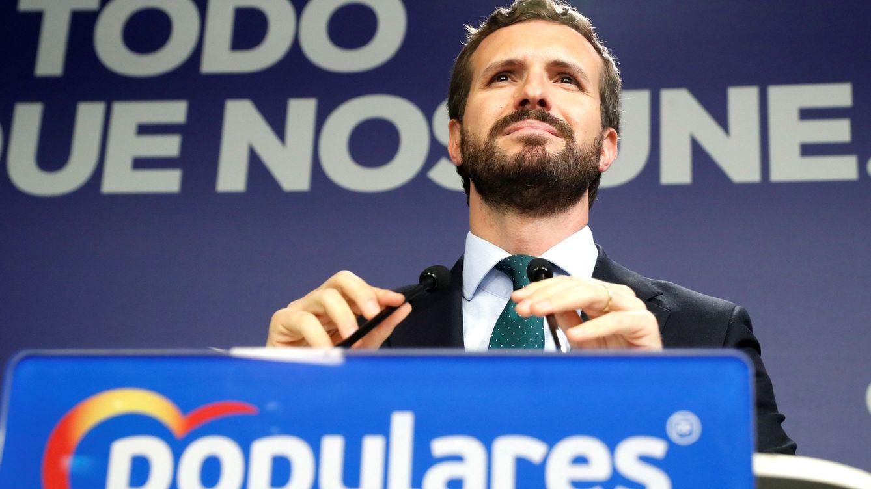 Casado cuadra las cuentas del PP y salva la sede de Génova con sus 89 escaños del 10-N