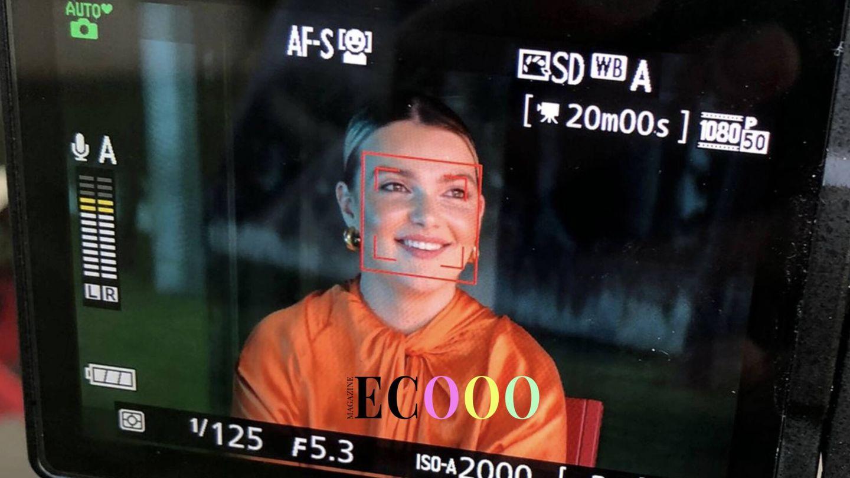 Sofía Bono, durante el rodaje de su documental. (Ecooo Magazine)