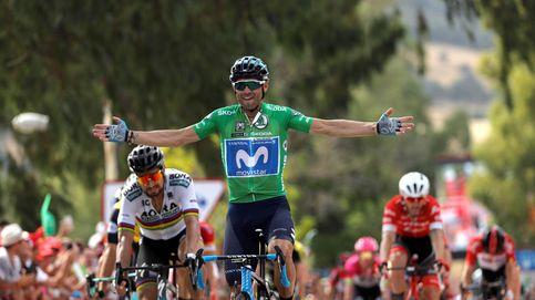 Alejandro Valverde puede con Peter Sagan en un final espectacular