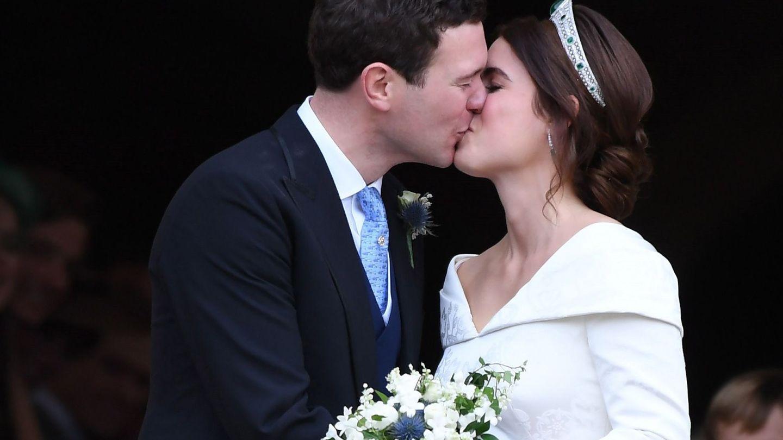 Eugenia de York y Jack Brooksbank, recién casados. (EFE)