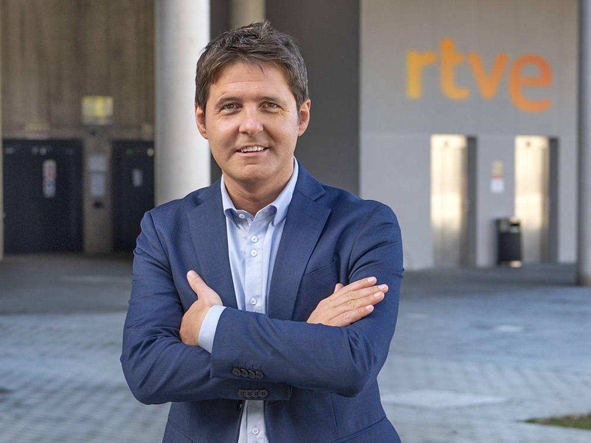 Foto: Jesús Cintora, presentador de 'Las cosas claras'. (TVE)