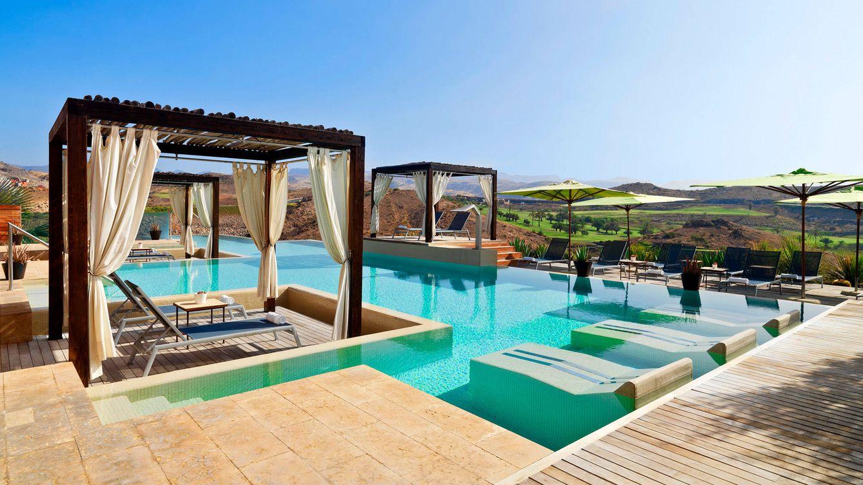 Foto: Vista de la piscina del Sheraton Gran Canaria Salobre Golf Resort.