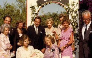 La reina Sofía, ausente en la boda de su ahijada, Sophie Von Schönburg