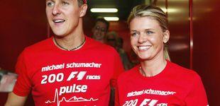 Post de La mujer Schumacher habla por primera vez de su estado: