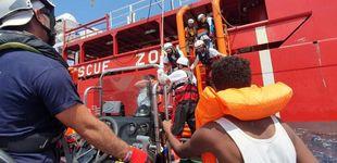 Post de El Ocean Viking rescata a más de cien migrantes frente a las costas de Libia