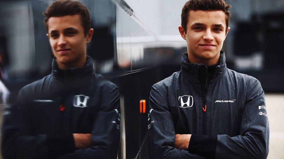 Foto: Lando Norris, la promesa de McLaren.