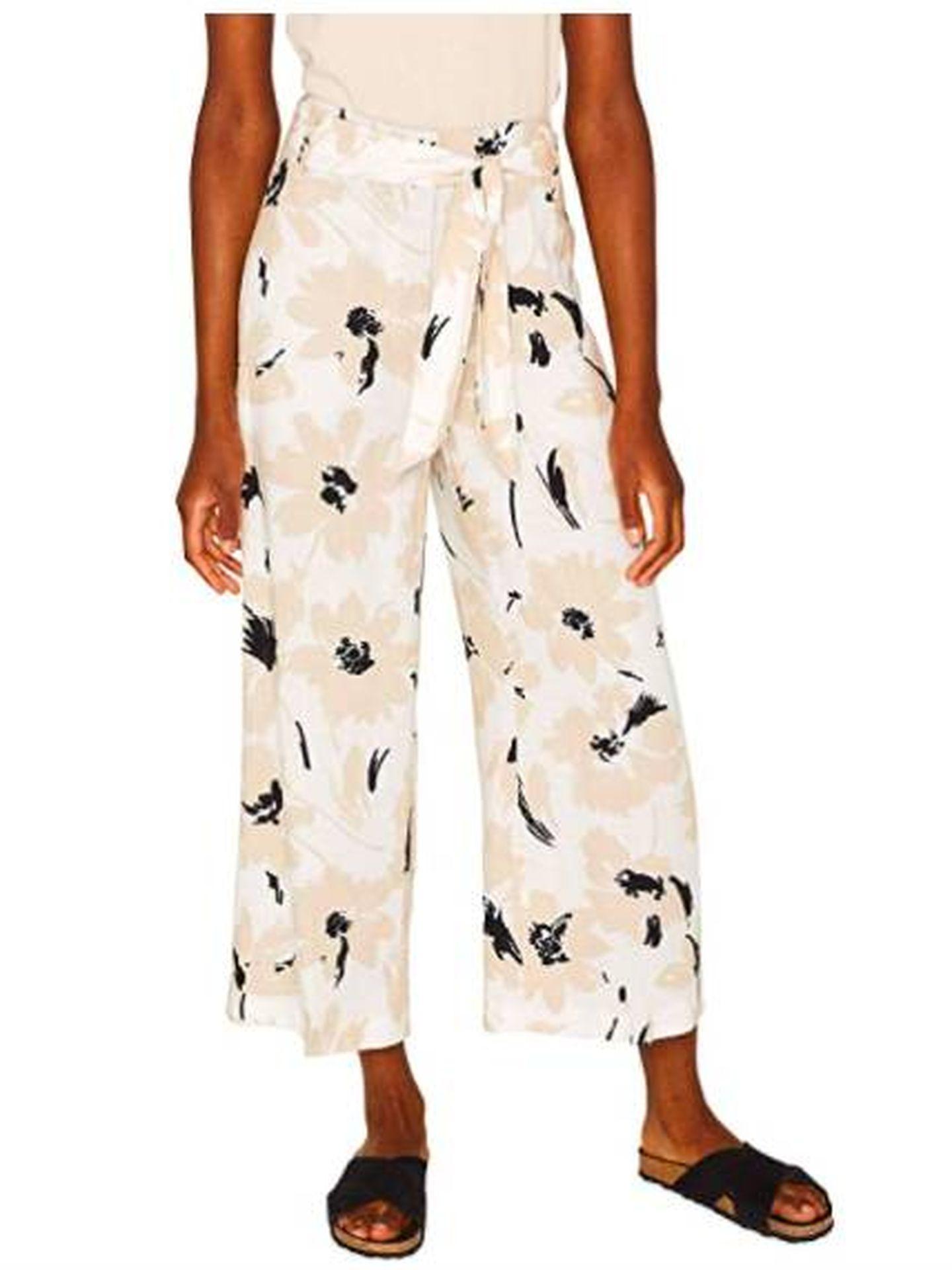 Pantalón de Esprit ideal para el verano. (Cortesía)