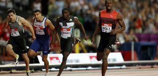 Post de Hortelano hace historia corriendo al lado de Bolt y superando a Lemaitre