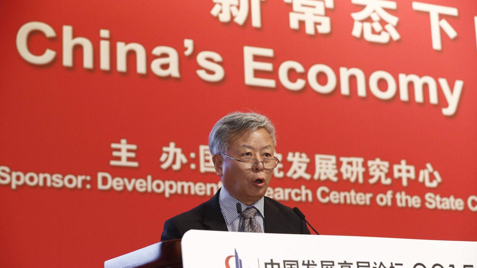 Foto: Jin Liqun, jefe interino del nuevo Banco Asiático de Inversiones en Infraestructura (BAII). (EFE)