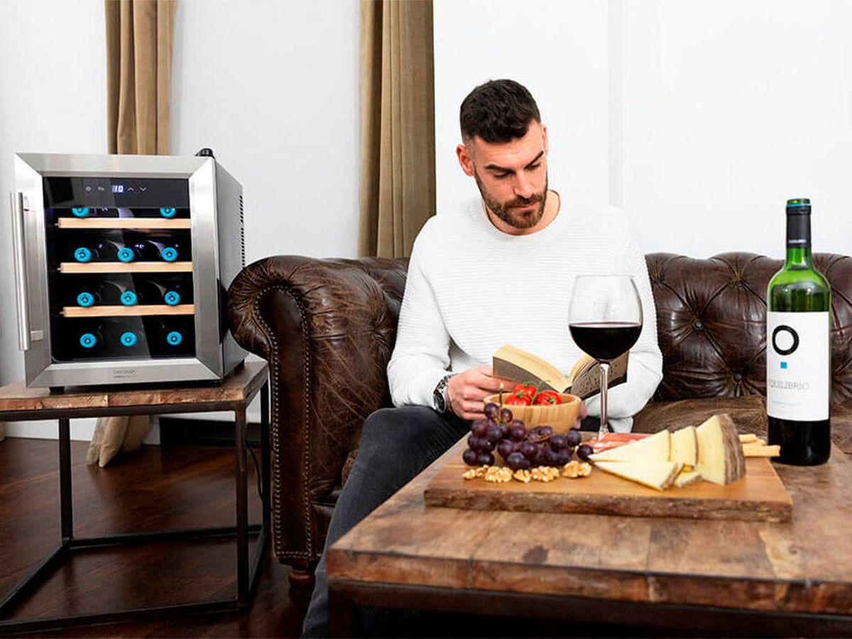 Foto: Chollos en vinotecas de Cecotec: las mejores al mejor precio. Análisis y comparativa (Cecotec)