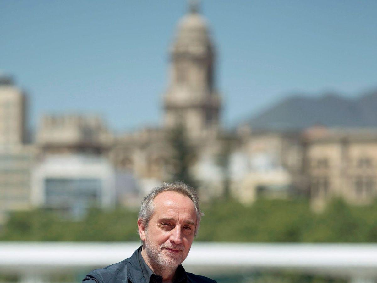 Foto: Gonzalo de Castro, en el Festival de Málaga. (EFE)