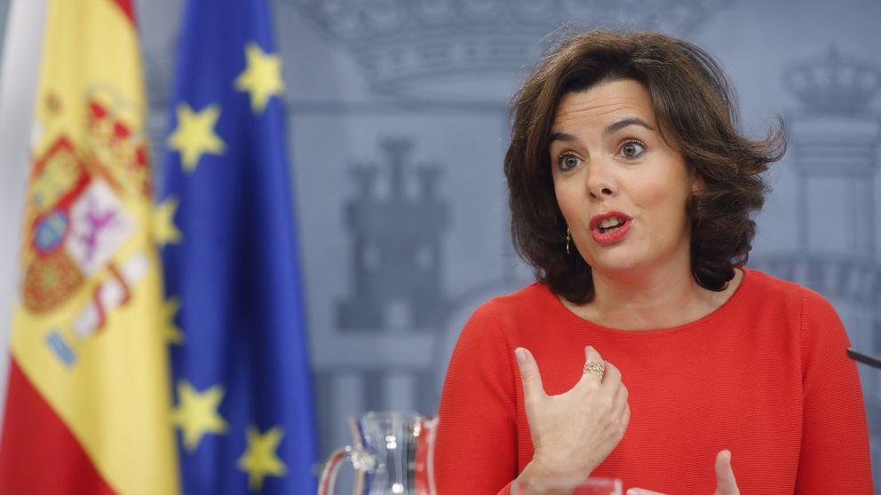 Rajoy prepara el discurso de investidura y Soraya llama a recuperar el tiempo