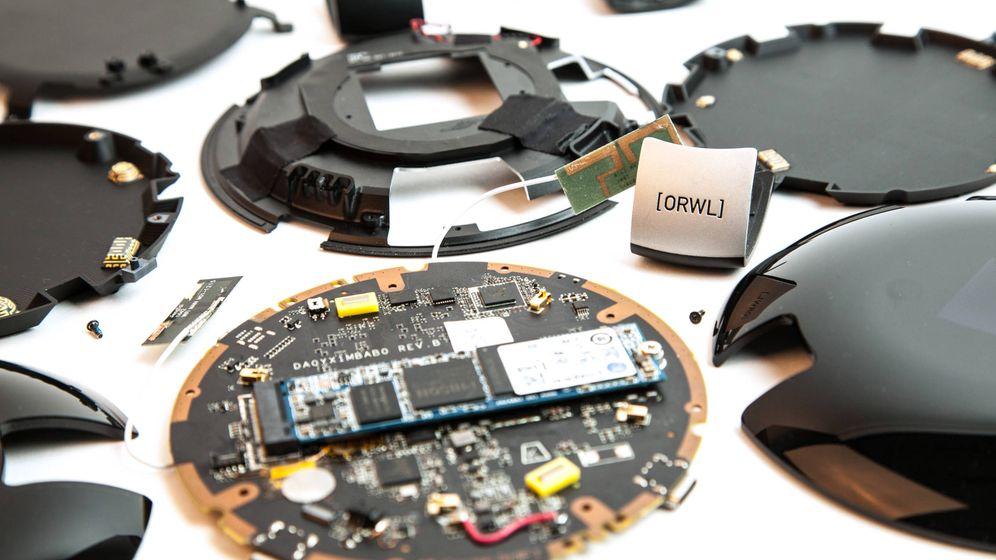 Foto: Si un intruso intenta desmontar el ordenador, la máquina borra todos los datos automáticamente (Fuente: Design SHIFT)