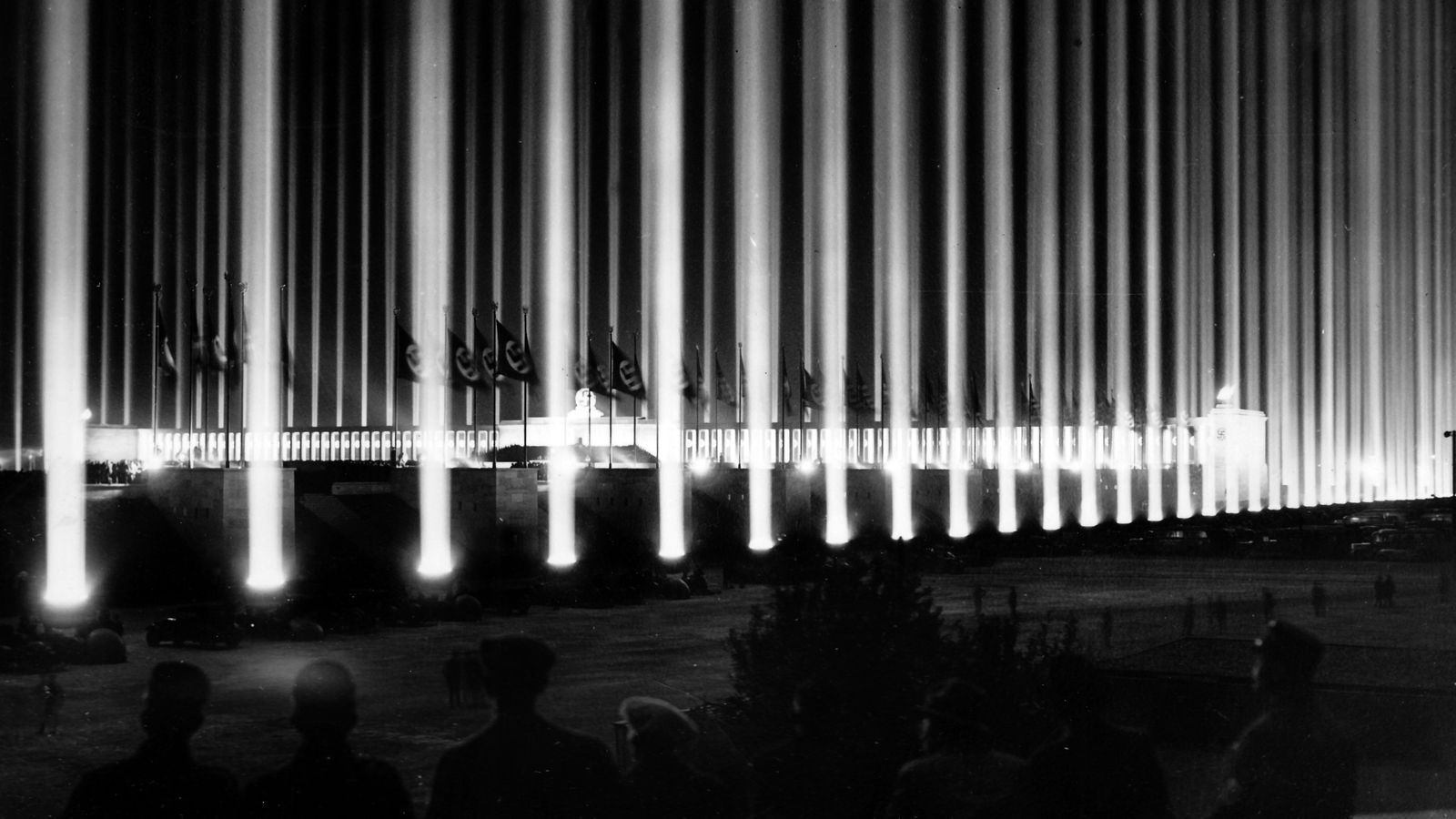 Foto: El congreso de Nuremberg en 1937. (Corbis)