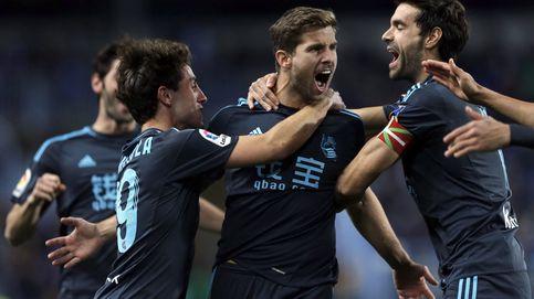 Iñigo Martínez, nacido para ver ganar a la Real Sociedad en el Camp Nou