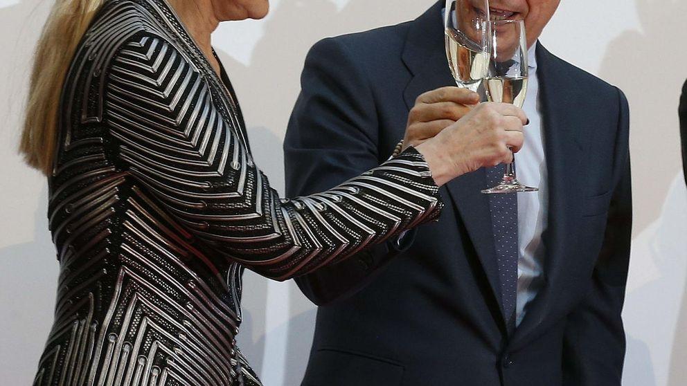 González hace la campaña a Cifuentes: pide a Rajoy que amplíe la maternidad