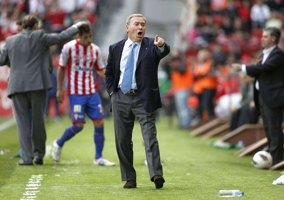 Foto: El banquillo del Sporting fue su último trabajo profesional.