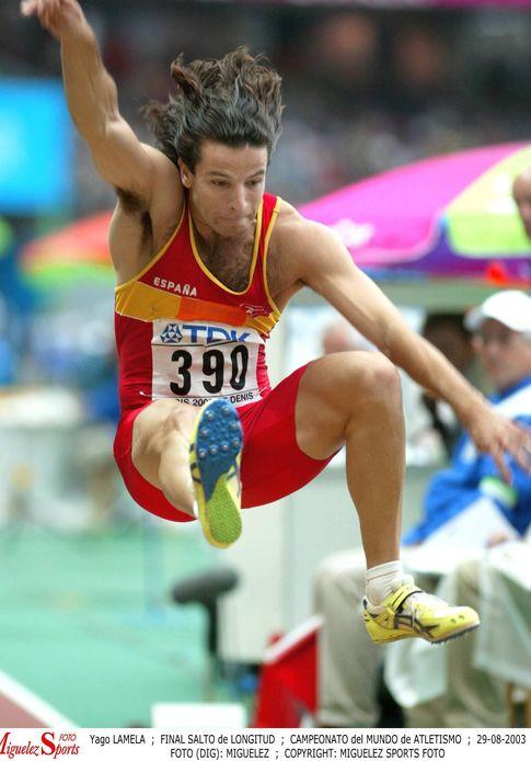 Foto: Yago Lamela, en un campeonato del Mundo (Cordonpress).