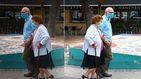 Última hora del coronavirus   Madrid retoma la sanitarización de hoteles