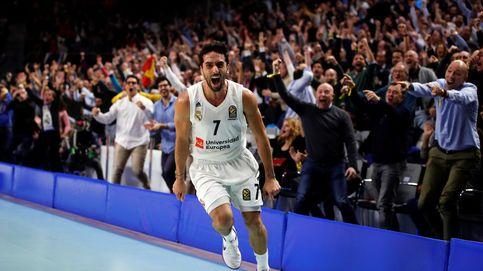 El 'show' de canastas imposibles del Real Madrid en su repaso al Barcelona
