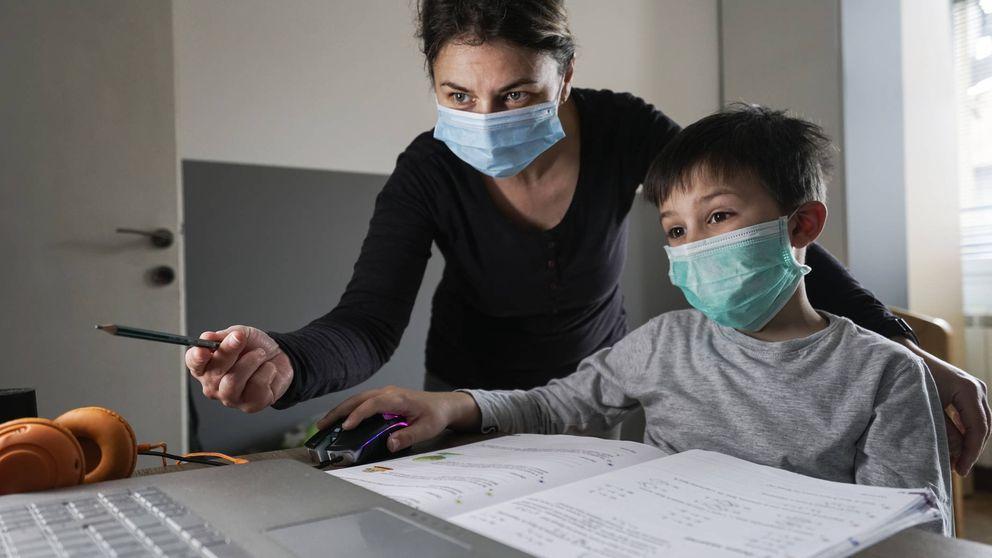 Más responsables e independientes: los niños y el confinamiento sin colegio
