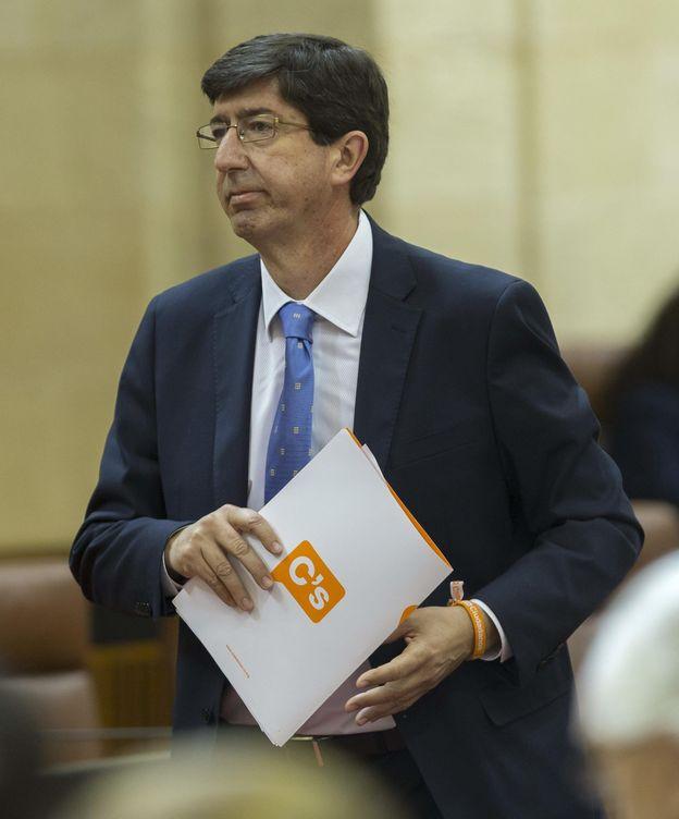 Foto: El líder de Ciudadanos en Andalucía, Juan Marín. (EFE)