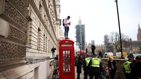 Protestas contra las restricciones en Londres