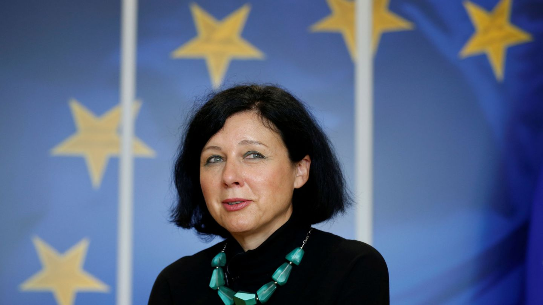 Vera Jourová, comisaria de Justicia. (Reuters)