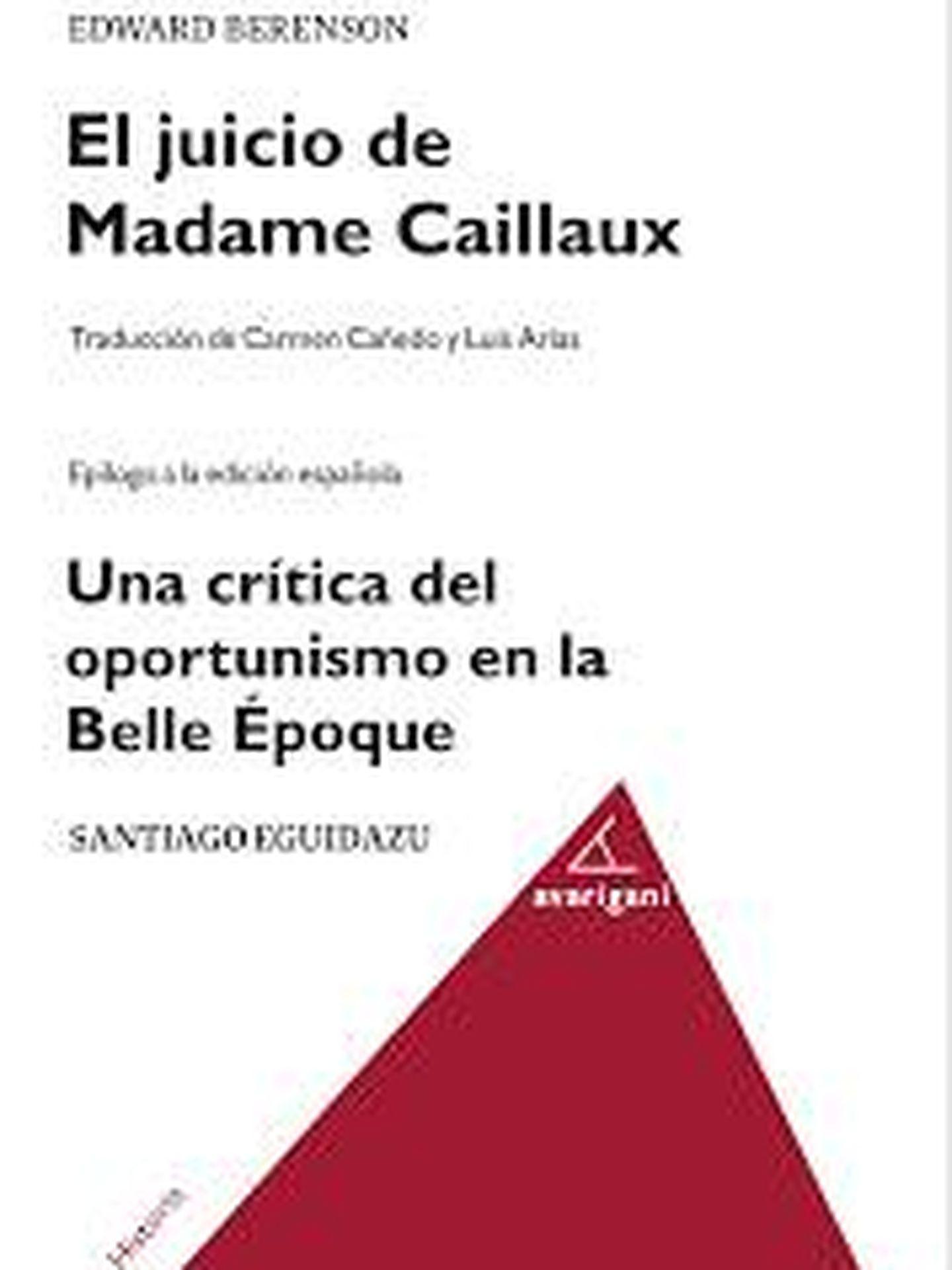 'El juicio de Madame Caillaux'