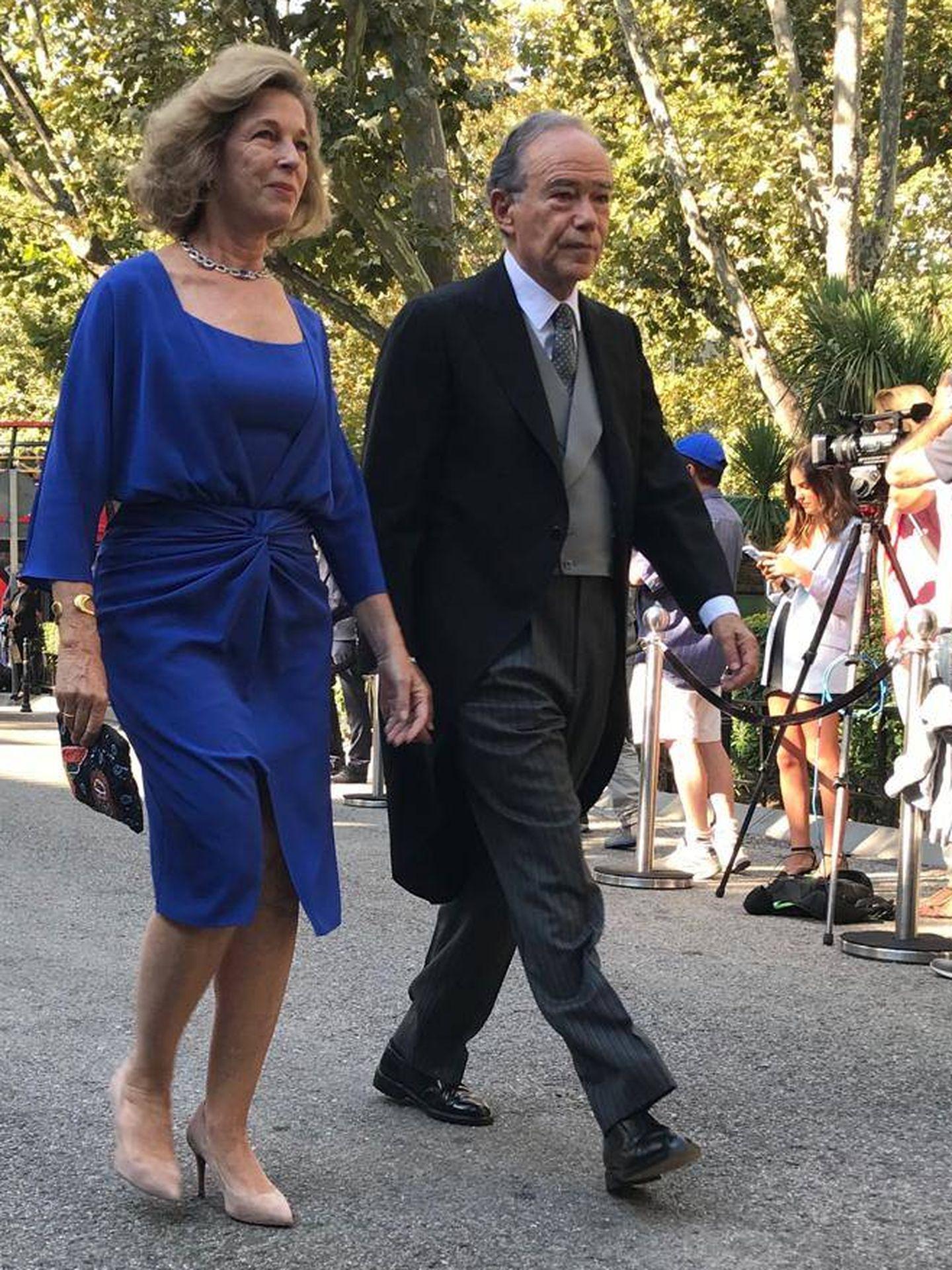 Gregorio Marañón y su esposa. (PI)