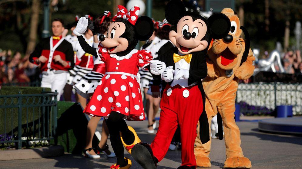 Foto: Minnie Mouse y Mickey Mouse son dos de los personajes clásicos de la factoría Disney. (Reuters)