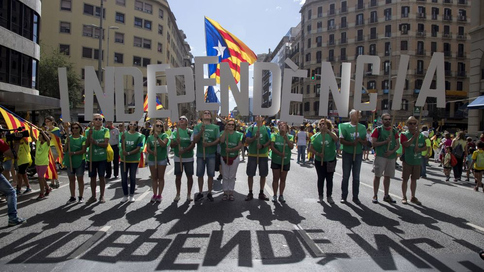 Foto: Marcha de la Diada de 2017 (EFE)