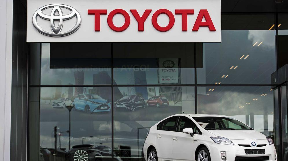 Foto: Concesionario de Toyota (Efe)