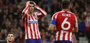Post de Cuando el Atlético de Madrid vende cara su piel contra el Liverpool y por qué falla Morata