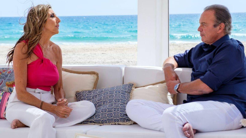Paz y Bertín, durante la entrevista. (Mediaset)