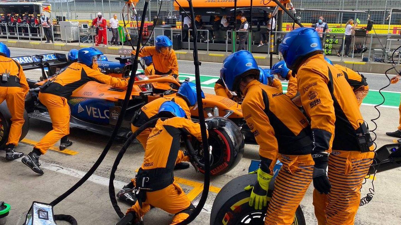 McLaren se disculpó con su piloto tras la parada en boxes del Gran Premio de Estiria (MCLAREN)
