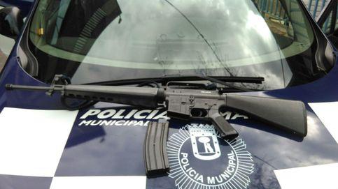 Susto en la Policía: detenido un hombre que paseaba con un fusil de aire comprimido