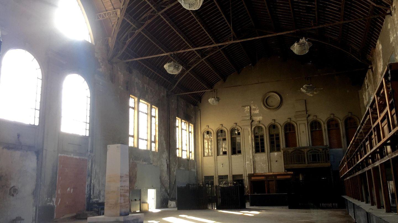 Aspecto actual del hall de la Estación del Norte (Prado Campos). Pinche para ver todas las imágenes