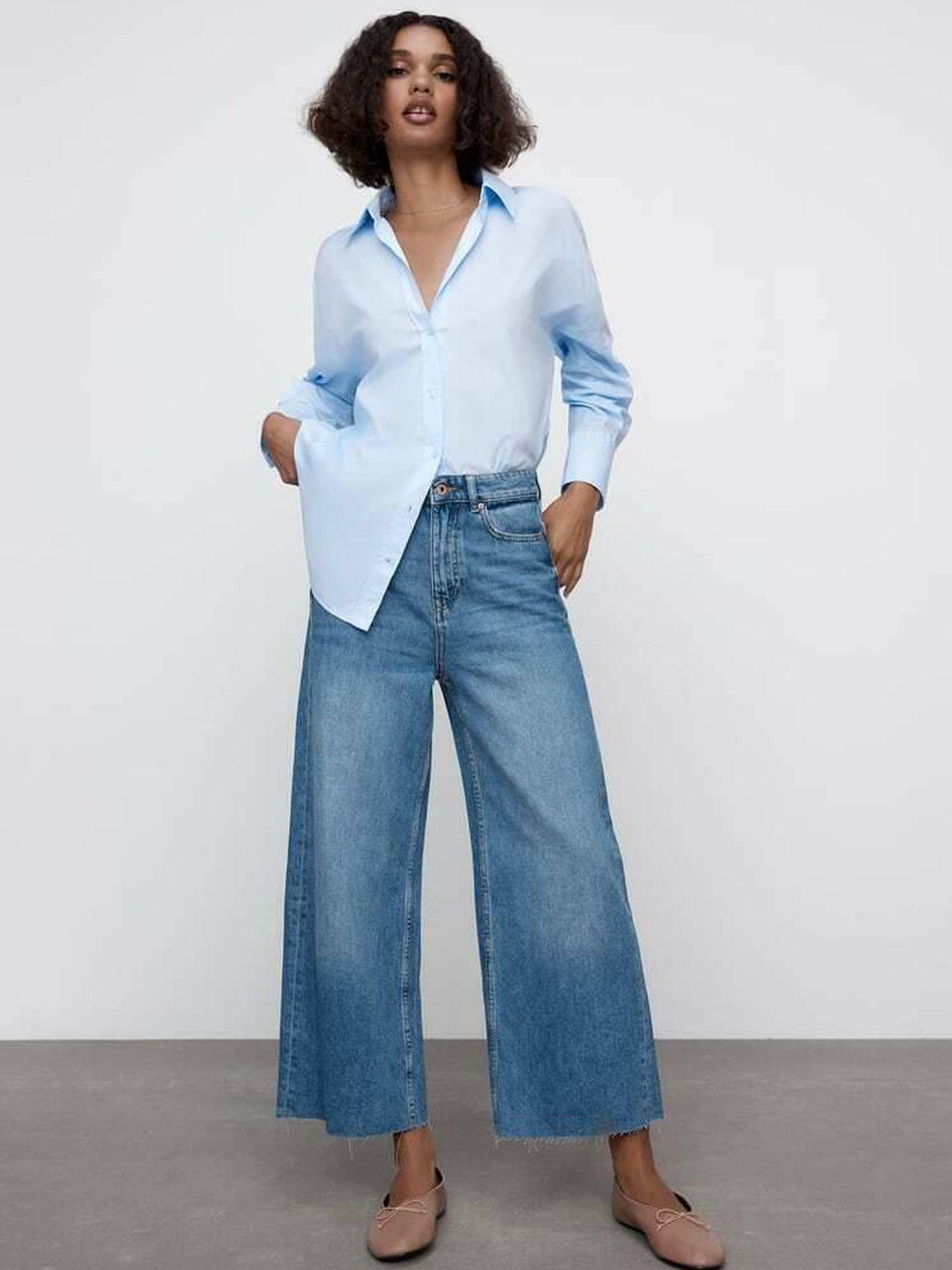 El pantalón vaquero de Zara. (Cortesía)
