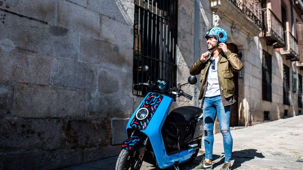 Cabify se olvida del taxi: pone motos eléctricas chinas en las calles de Madrid