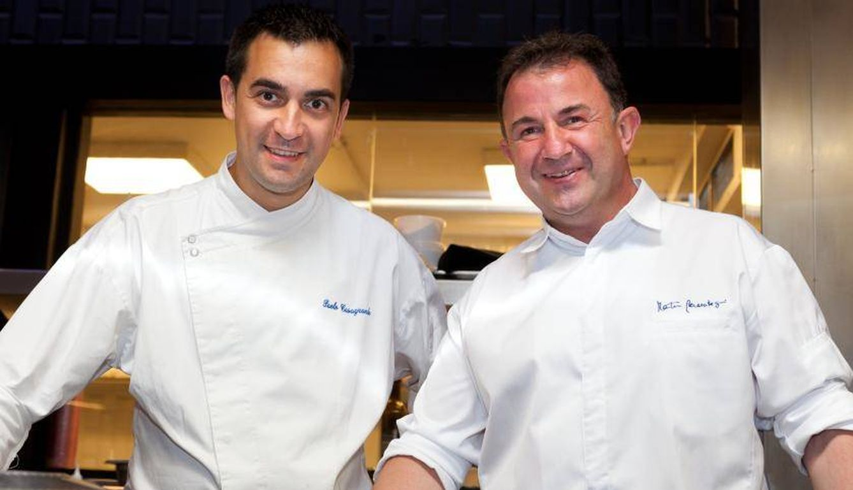 Foto: Paolo Casagrande y Martin Berasategui. Los dos triunfadores