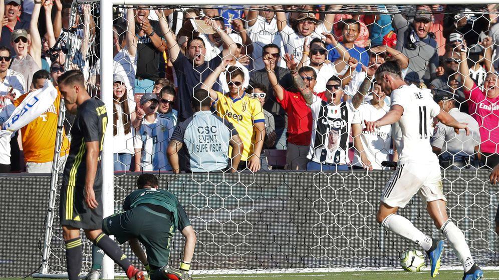 Foto: Bale empató el partido justo antes del descanso. (USA TODAY Sports)