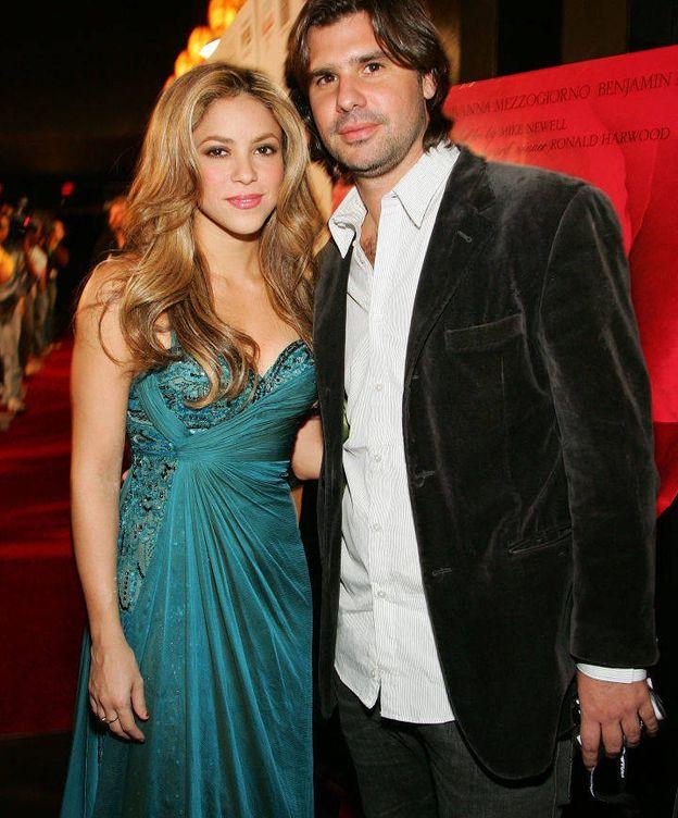 Foto: Shakira y Antonio de la Rúa. (Getty)