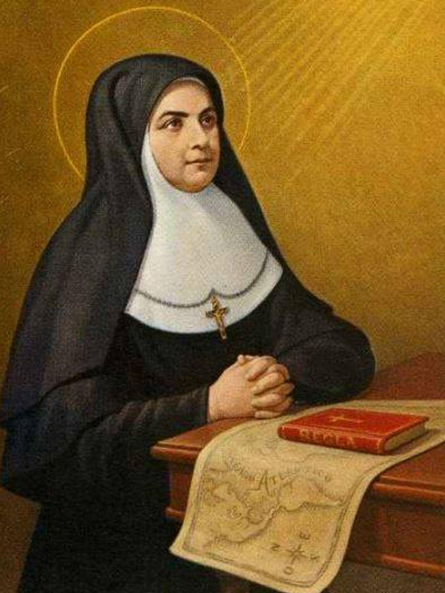 Pintura de Santa María Soledad Torres Acosta. (C.C.)