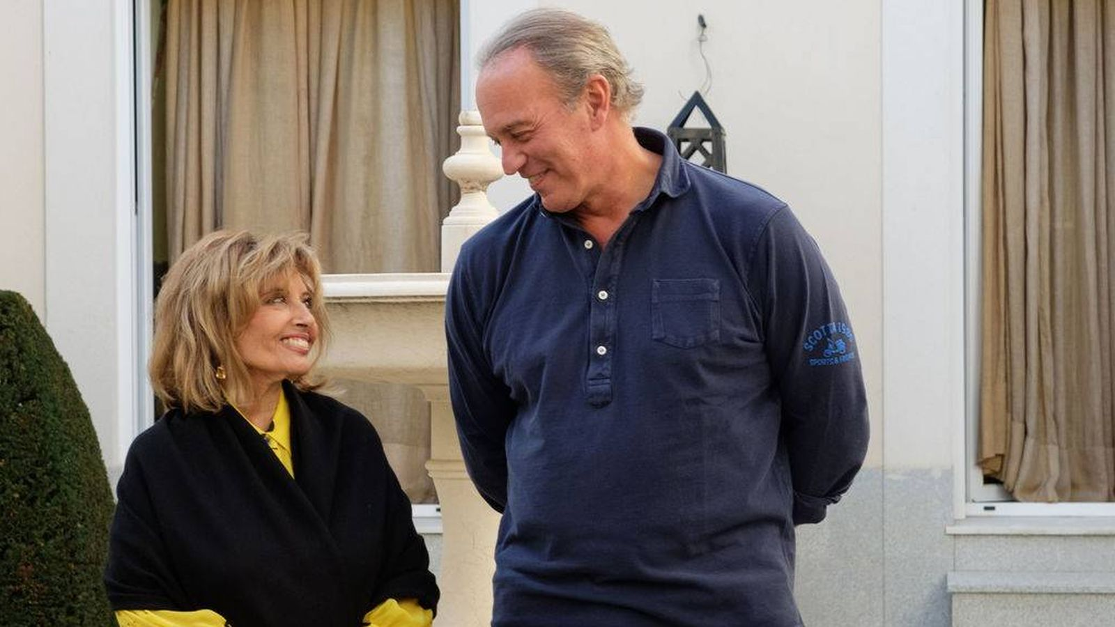Foto:  María Teresa Campos recibe a Bertín en 'Mi casa es la tuya'.